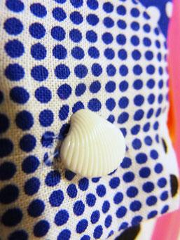 残りわずかな貝殻ボタン
