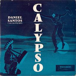 Daniel Santos y sus Calypso Boys - EP 45 RPM.