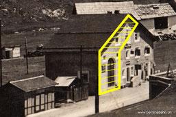 241-022 (Ausschnitt) Engadin Press Co., Samaden u. St. Moritz. Karte ungelaufen