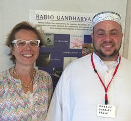 Avec le Rabbin Gabriel Hagai