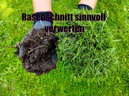 Rasenschnitt verwerten kompostieren rezept erde herstellen