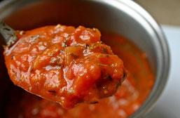 Italienische Tomten Soße