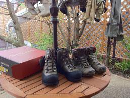 同靴の改良版(右側が旧)