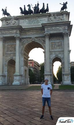 Porta Sempione Milaan