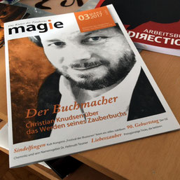 "Coverboy der ""magie"" - Christian Knudsen, Zauberer in Hamburg"