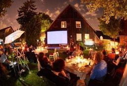 Feste feiern in Filderstadt. Traumgarten zum feiern bei abloom-event