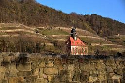 Die Weinbergkirche bei Pillnitz