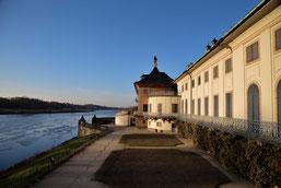 Das Wasserpalais von Pillnitz