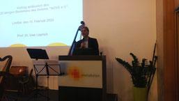 Prof. Uwe Leprich fand deutliche Worte ( Nove)
