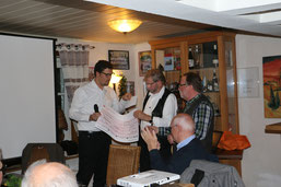 vlnr. Bürgermeister Bukowski, Klaus Jung und Christoph Buchen (hu)