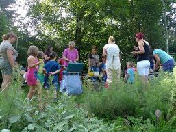 Treffen in der Stadt zum urban gardening, nicht nur etwas für Großstädte (fs)