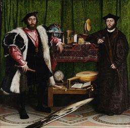 Et pour en savoir plus sur ce tableau d'Holbein et les vanités de la Renaissance...Changez de point de vue et vous verrez peut être les choses différemment.