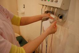 物理療法パッドは清潔に毎回付け替え