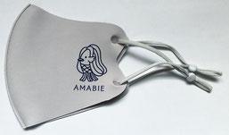 かわいいアマビエマスク8割の飛沫拡散を防ぐポリエステル洗濯可