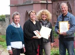 Auszeichnung in Oppenheim