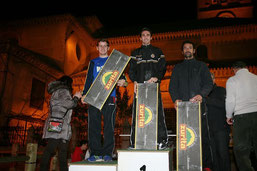 Podium Carrera Absoluta