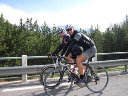 Stage cyclisme montagne argelès-gazost encadré par FTC SPORT