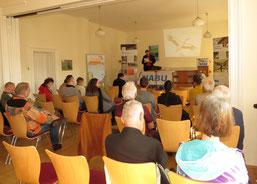 Mitgliederversammlung des NABU Leipzig. Foto: Karsten Peterlein