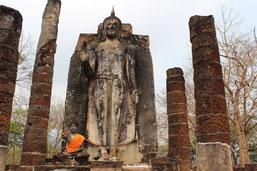 You make a round trip from Bangkok via Ayutthaya, Uthai Thani and Sukhothai back to Bangkok.