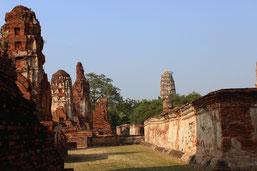 Sie besichtigen auf Ihrer Ayuttaya Tour den Historical Park.