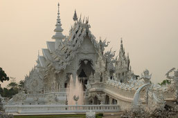 You go on a round trip from Chiang Mai to Chiang Rai to the Golden Triangle.