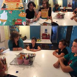 taller per nens revista Namaka a Can Xic