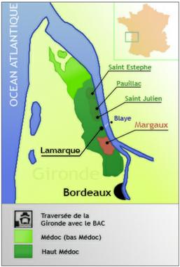 carte du médoc