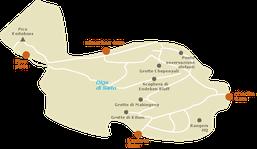 Mappa Parco Nazionale Monte Elgon