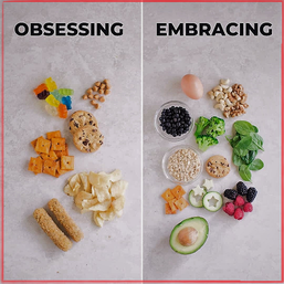 Tips for a healthy relationship with food