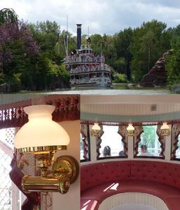 mississppi tom sawyer Disneyland paris bateau