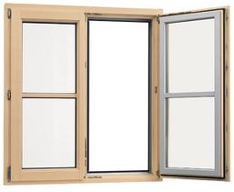 Holz-Alu-Fenster (Foto: Distner)