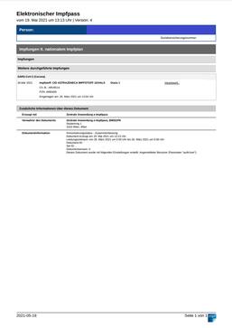 E-Impfpass Heilquell Apotheke Baden