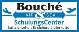 Logo Bouché Air & Sea: AEO & bV SchulungsCenter Luftsicherheit sichere Lieferkette