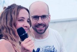 Liane Adam und Julian von Schuetz Leiter Yoga und Atemreise HELDENSEMINARE