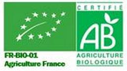 logo AB sur le lait d'ânesse