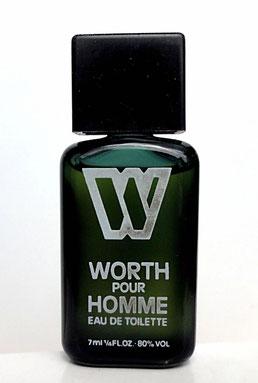 WORTH POUR HOMME - MINIATURE SEULE