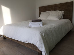 Chambre rez-de-chaussée lit double (160x200)