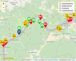 Unsere Verleihpartner in der Region Wachau. Wir liefern unsere Scooter zu Hotels, Pensionen in Spitz an der Donau, Dürnstein, Rossatz und Krems..
