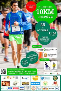 II 10 KM. CAJA VIVA - BURGOS, 26-10-2014