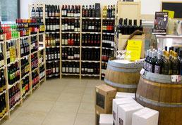 Bio-Wein-Abteilung