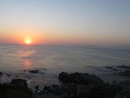 Sonnenuntergang in de Kelders