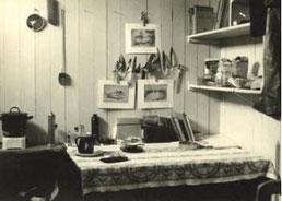 Zimmer für Jordsand-Mitarbeiter im Leuchtturm Neuwerk. (Foto: Archiv Jordsand)