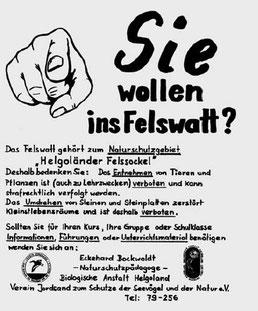 Infoplakat (Foto: Archiv Jordsand)