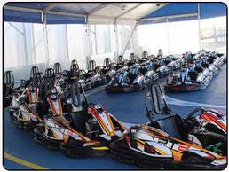 carrera de kart en Sevilla
