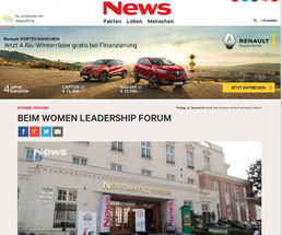 Women Leadership Forum 2016_Video Beitrag NEWS