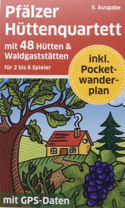 Pfälzer_Hüttenquartett_Kartenspiel 5. Ausgabe Wanderplan Pfalz