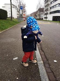 Mütze für Kind und Krümel :-)