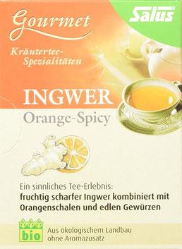 Ingwer Orangen Tee
