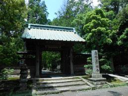 壽福金剛禅寺の山門