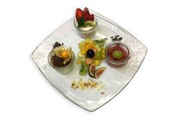 Essen im Restaurant der Hummelei in Oberaudorf
